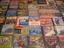 1000+ SURF INSTRUMENTALS 39 TITLES 52 CD'S  ALL THE GREATS DALE SANDALS VENTURES