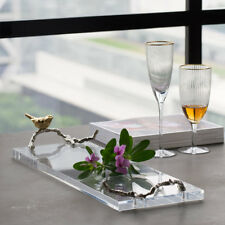 Darby Home Co Bloom Acrylic Accent Tray