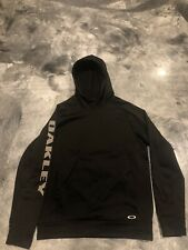 00b0b836b5 Oakley Pullover Hoodie Black Size Large Great Condition! MSRP  80
