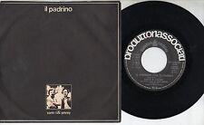 SANTO & JOHNNY disco  45 giri  MADE in ITALY Il padrino COLONNA SONORA