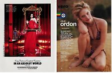 ABSOLUT 2009 mag print ad Bloody Vodka alcohol MAUI GIRL swimsuit JULIE ORDON