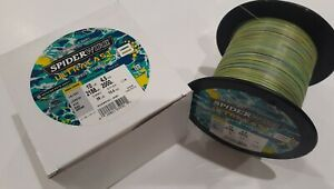Spider Wire Ultra Cast Braid, 10 lb. 2188 Yards, Aqua Camo, NEW!
