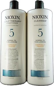 Nioxin 5 Cleanser and Scalp Therapy Liter Duo