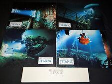 LES FANTOMES DU TITANIC j cameron rare jeu photos cinema prestige grand format