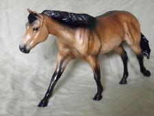 Breyer Horse Statue OOAK CM/Custom Quarter Horse Roxy Dappled Buckskin