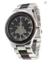Typhoon motif watch, S/Steel case & strap, M/F, Friend or Foe, Miyota Quartz
