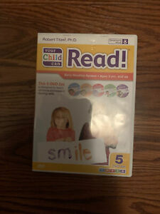 Your Baby Can Read - 5 DVD Lot - Robert Titzer - Volumes 1 2 3 4 5