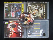 x5 Jeux GTA Flashpoint Formula 1 PES Legendary Sony PlayStation 3 Three PS3 PAL