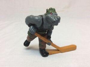 Vintage Remco TMNT Ninja Turtles 1990 Subterranean Sewer Hockey ROCKSTEADY