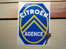 CITROEN AGENCE Dealer Style Classic Car STICKER Autocollant Garage 2CV Traction