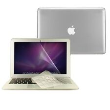 "3 in1 Crystal CLEAR Case Cover for Macbook Air 13"" A1369 + Key Cover+ LCD Screen"