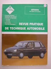 revue technique automobile RTA neuve AUSTIN  METRO tous types 3 et 5 portes
