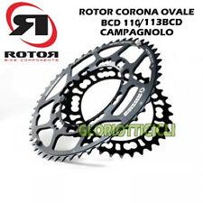 ROTOR - CORONA CORSA OVALE CAMPAGNOLO 50D 110/113 BCD*5 NERO