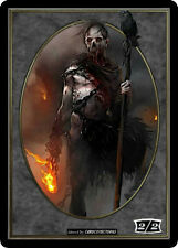 Wizard 2//2 Token x4 Custom {Unglued style} Ikoria MTG Magic the Gathering