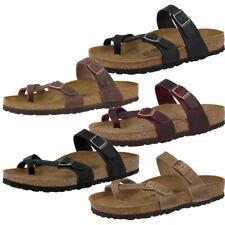 Birkenstock Mayari rasurado nubukleder sandalias zapatos sandalias zapatillas de casa