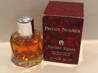 Etienne Aigner Private Number Women's 1.7oz Eau de Toilette Spray Hard To Find