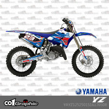 GRAPHICS DECALS STICKERS FULL KIT FOR YAMAHA YZ 125/250 2015-2017
