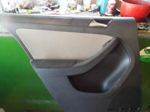 11 VW JETTA REAR DOOR TRIM PANEL 129836