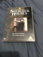 Sherlock Holmes - The Final Problem /The Empty House (DVD, 2003)- REGION 2