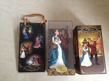 Disney fairytale designer collection belle & gaston limited edition doll set
