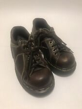Dr Martens Women's Brown Shoes-9351-Lace Up-UK Size 5 US Size 7-Made in England