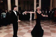 Princess Diana Dances With John Travolta at White House, 1985 -- Modern Postcard