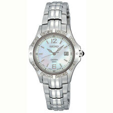 Seiko Coutura SXDE19 Ladies Diamond Dress Watch Mother of Pearl NEW RRP$ 899.00