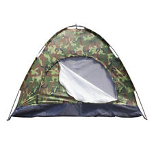 Portable 3-4 Person Camping / Hiking Dome Tent Camouflage US Stock