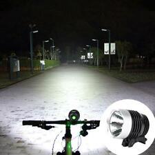 LED Fahrradbeleuchtung Fahrrad Licht Fahrradlampe Wasserfest ♥