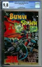 BATMAN-SPAWN WAR DEVIL #NN CGC 9.8 WHITE PAGES // WRAPAROUND COVER 1994