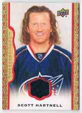 2015-16 MASTERPIECES SCOTT HARTNELL JERSEY 1 COLOR 60/85 COLUMBUS BLUE JACKETS