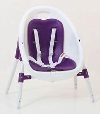 Vee Bee Pop2 Purple 3in1 Portable Baby High Chair Feeding Kids Toddler 6m 14kg