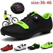 Cycling Shoes Men Sneakers Mountain Bike Shoes Self-Locking Racing Bicycle Shoes