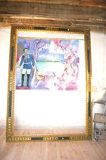 Spiegel Bilderrahmen mirror trumeau Louis XVI Goldrahmen Bild Rahmen Barock Nr.3
