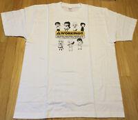 New Wagnaria Working t shirt XL anime white Japan otaku cute Popura Taneshima