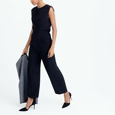 J. Crew Collection Silk Wide-Leg Jumpsuit  Sold Out Black NWT Sz 2 $298
