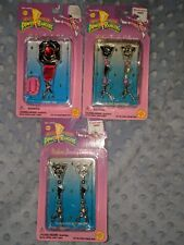 Lot of 3 Mighty Morphin Power Rangers 1995 Radiant Jewelry Collection Gift Set
