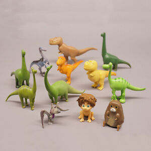 The Good Dinosaur Arlo Budda Action Figure Kid Gift Toy Cake Topper 12 Pcs