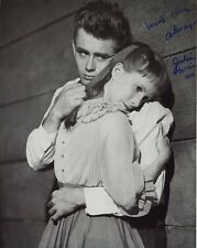 JULIE HARRIS HAND SIGNED 8x10 PHOTO+COA     GREAT POSE+JAMES DEAN   EAST OF EDEN