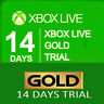 X box Live 14 Day Trial Membership Code, 2 weeks 14 Days-X BOX ONE ONLG
