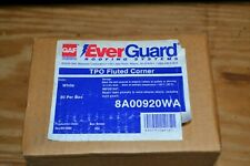 Ever Guard 20 ct. Roofing Tpo Fluted Corner White 8A00920Wa (New In Box)