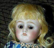 "ANTIQUE LITTLE BISQUE Doll SIMON & HALBIG Germany 130 6 1/2"""