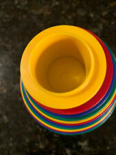 Discovery Toys Kids Measuring Cups Full Set of 12 Learning Multi Colors Great