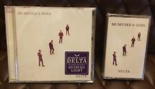 Mumford & Sons Delta CD and Cassette ( 2018) NEW