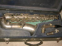 """The Popular"" V. Kohlert's Sons Graslitz Old Czech Alto Saxophone"