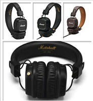 Marshall Major II &Bluetooth Remote MIC Headphones Noise Deep Bass