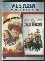 The Train Robbers & Tall in the Saddle (DVD, 2006, 2-Disc Set) John Wayne New