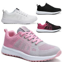 Women Ladies Lace Up Breathable Trainers Sport Running Sneakers Pumps GYM Shoes