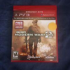 Call of Duty Modern Warfare 2 GH PS3 New PlayStation 3 DLC Free Shipping