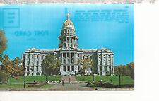 State Capitol Building  Denver Colorado    Postcard 2257